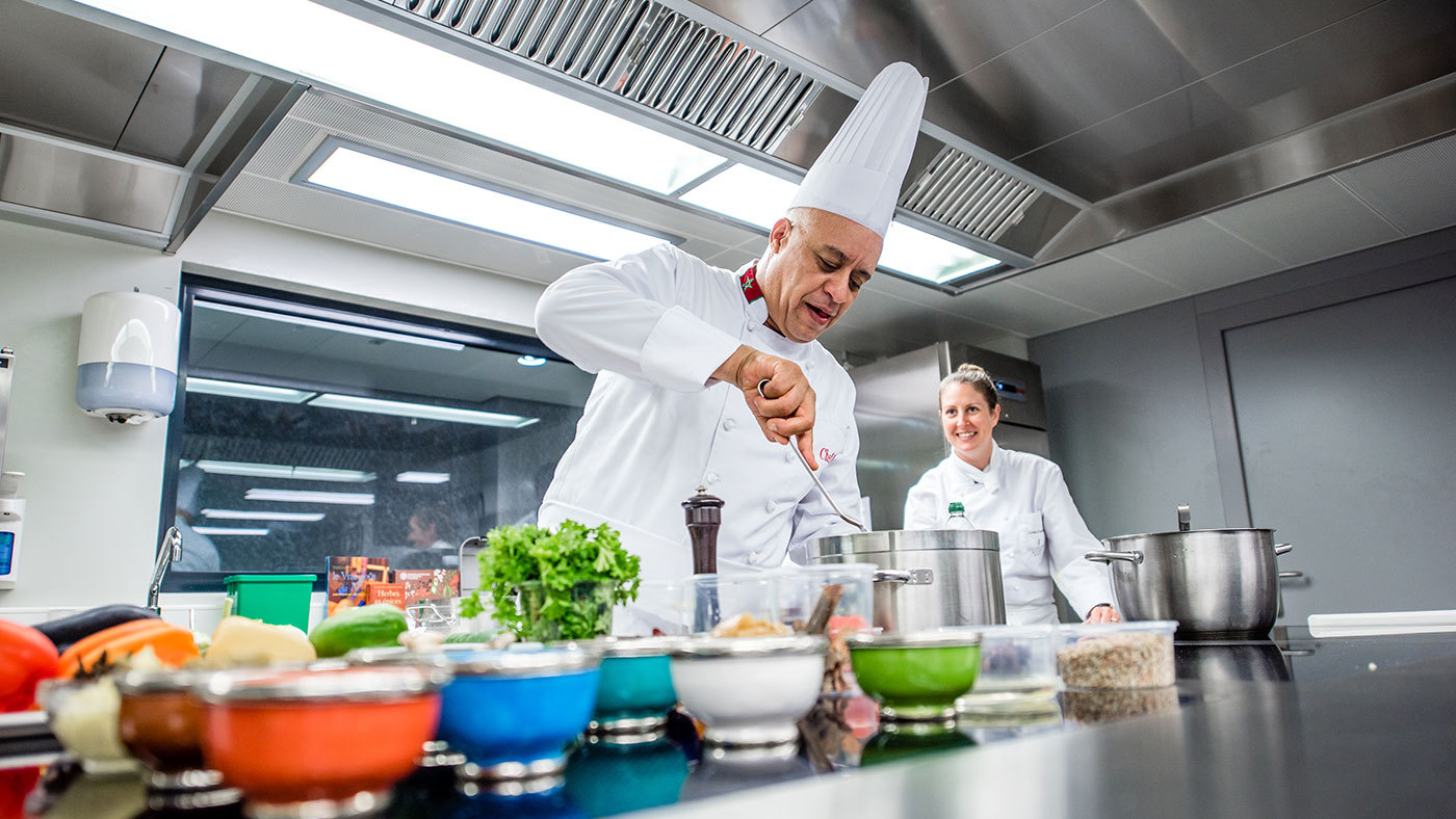 Cookery holidays from local chefs