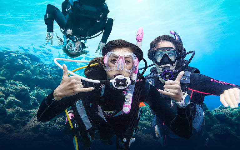 Scuba diving holidays from local dive masters